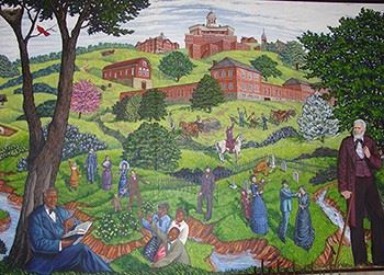 Clay County Administration Building Murals 7b